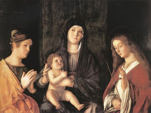 Sacred Conversation, 1490 by Giovanni Bellini