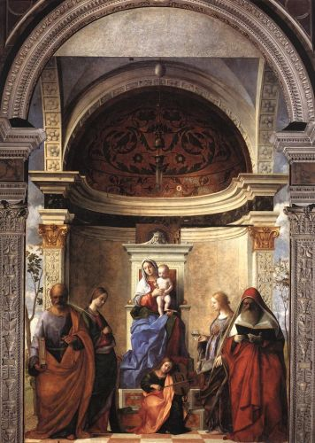 San Zaccaria Altarpiece, 1505 by Giovanni Bellini