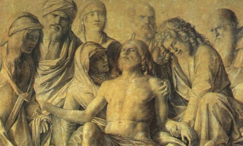 The Lamentation over the Body of Christ, 1500 by Giovanni Bellini