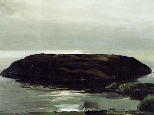 An Island in the Sea, 1911 by George Bellows