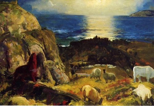 Criehaven, Large, 1917 by George Bellows