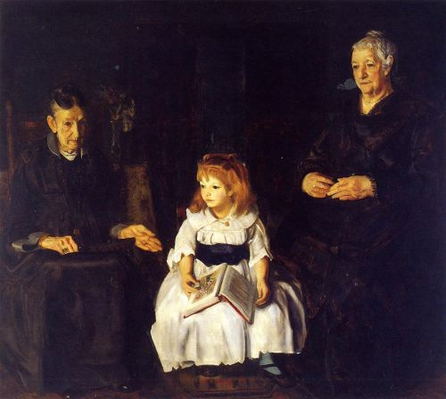 Elinor, Jean and Anna, 1920 by George Bellows