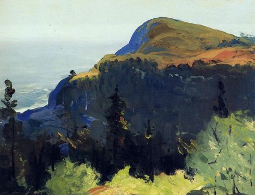 Hill and Valley, 1913 by George Bellows