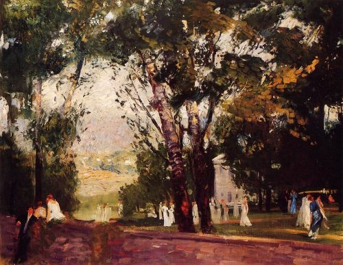 In Virginia, 1908 by George Bellows