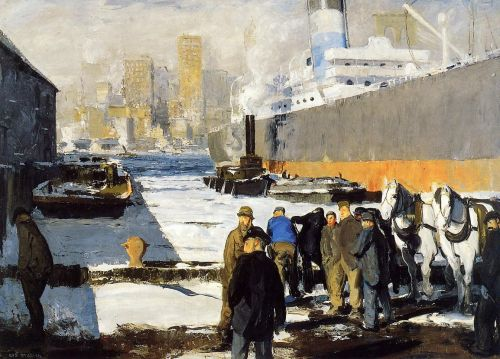 Men of the Docks, 1912 by George Bellows
