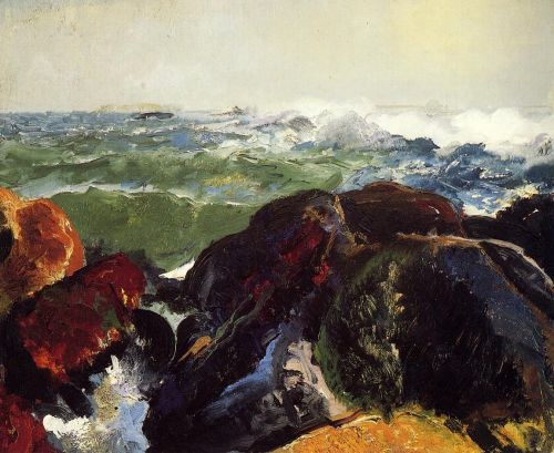 Monhegan Island, 1913 by George Bellows