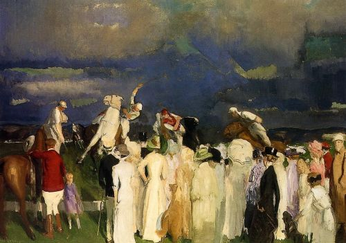 Polo Crowd, 1910 by George Bellows