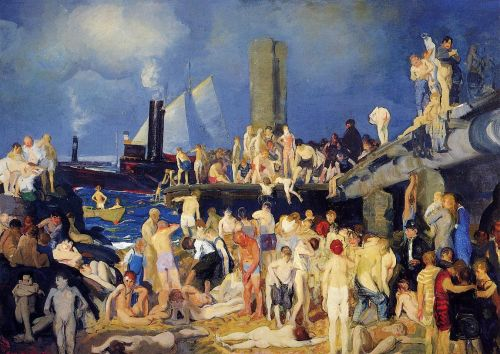 Riverfront, 1914 by George Bellows