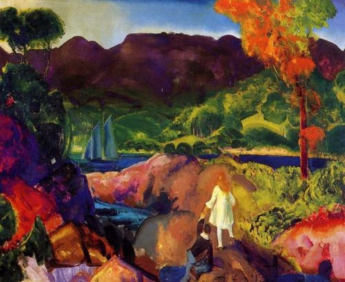 Romance of Autumn, 1916 by George Bellows