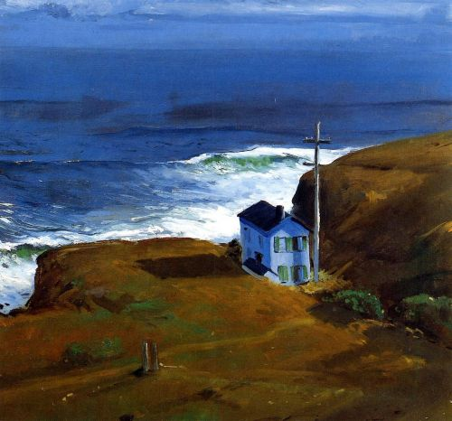 Shore House, 1911 by George Bellows
