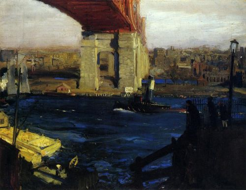 The Bridge, Blackwell's Island, 1909 by George Bellows