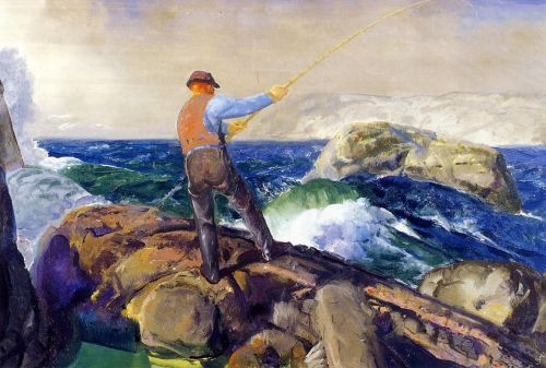 The Fisherman, 1917 by George Bellows