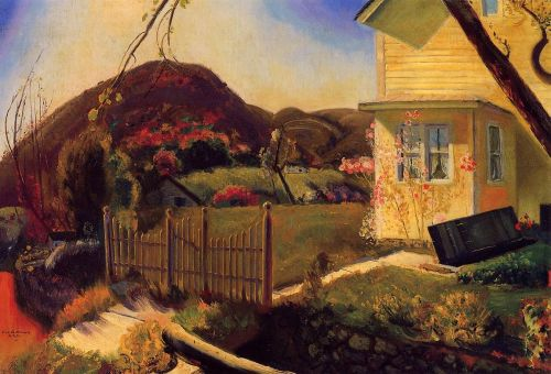 The Picket Fence, 1924 by George Bellows