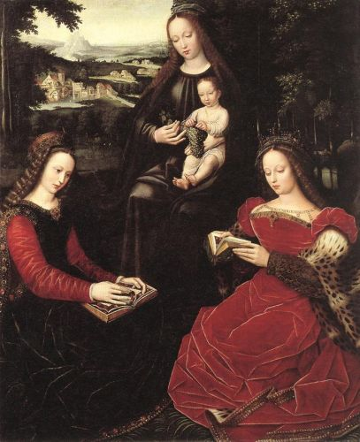 Virgin and Child with Saints, 1530-1532 by Ambrosius Benson