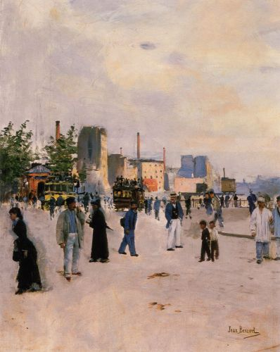 A Morning Stroll by Jean Béraud