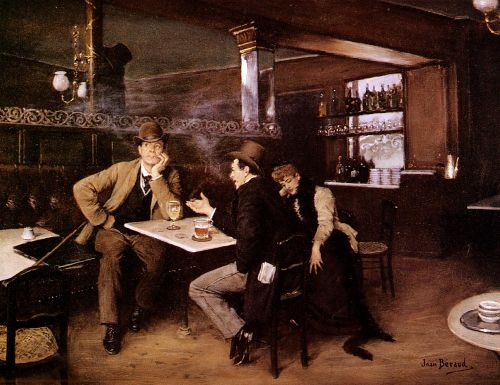 At the Bistro by Jean Béraud