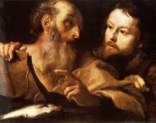Saint Andrew and Saint Thomas, 1627 by Gian Lorenzo Bernini