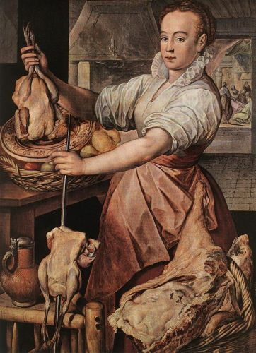 The Cook, 1574 by Joachim Beuckelaer