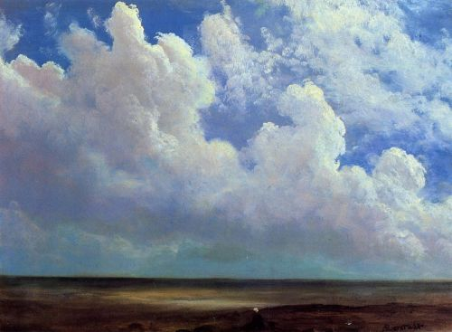 Beach Scene, 1871-1873 by Albert Bierstadt