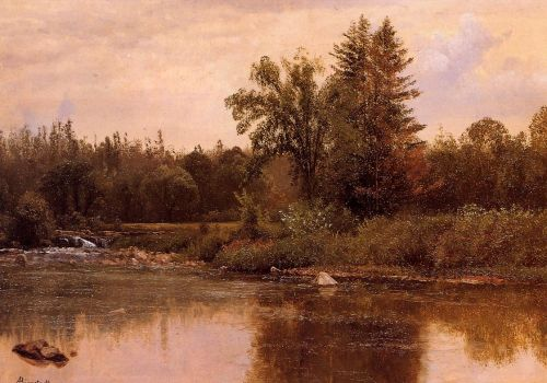 Landscape, New Hampshire, 1857-1859 by Albert Bierstadt