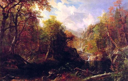 The Emerald Pool, 1870 by Albert Bierstadt