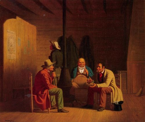 Country Politician by George Caleb Bingham