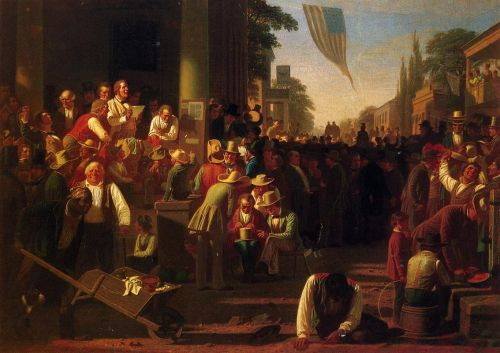 The Verdict of the People by George Caleb Bingham