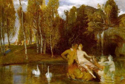 Elysian Fields by Arnold Böcklin