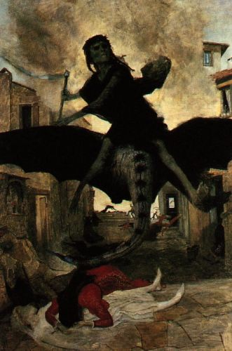 The Plague by Arnold Böcklin