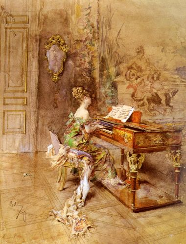 La Pianista by Giovanni Boldini