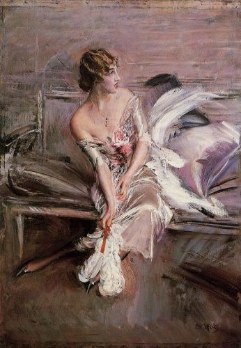 Portrait of Gladys Deacon by Giovanni Boldini