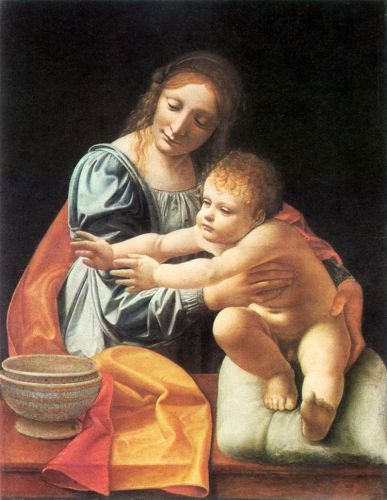 The Virgin and Child by Giovanni Antonio Boltraffio