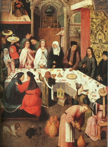 Marriage Feast at Cana by Hieronymus Bosch