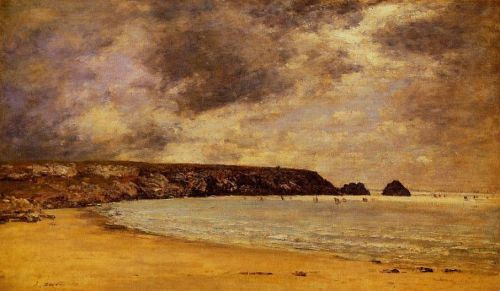 Camaret, the Bay by Eugène Boudin