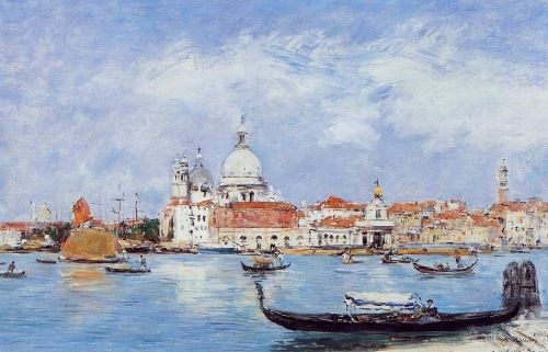 Venice, View from the Grand Canal by Eugène Boudin