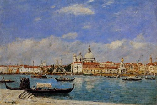 View of Venice by Eugène Boudin