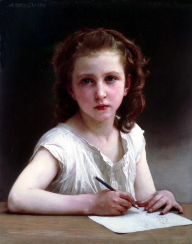 A calling by William-Adolphe Bouguereau