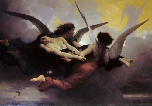 A Soul in Heaven by William-Adolphe Bouguereau