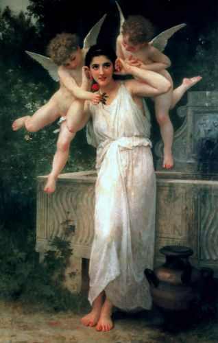 Jeunesse by William-Adolphe Bouguereau