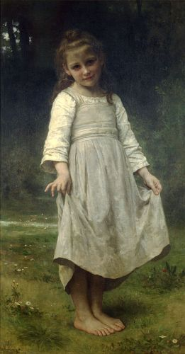 La révérence by William-Adolphe Bouguereau