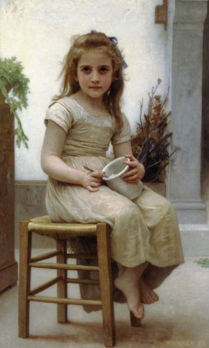 Le Goûter by William-Adolphe Bouguereau