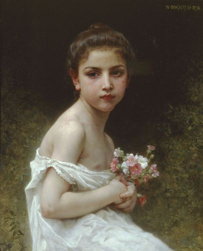 http://www.artilim.com/painting/b/bouguereau-william-adolphe/little-girl-with-a-bouquet.jpg