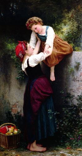 Little Thieves by William-Adolphe Bouguereau