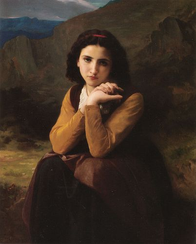 Mignon by William-Adolphe Bouguereau
