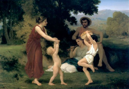 Pastoral by William-Adolphe Bouguereau