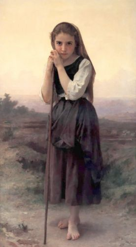 Petite Bergere by William-Adolphe Bouguereau