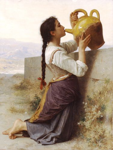 Thirst by William-Adolphe Bouguereau