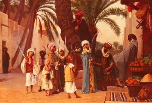 A Tale of 1001 Nights by Gustave Boulanger
