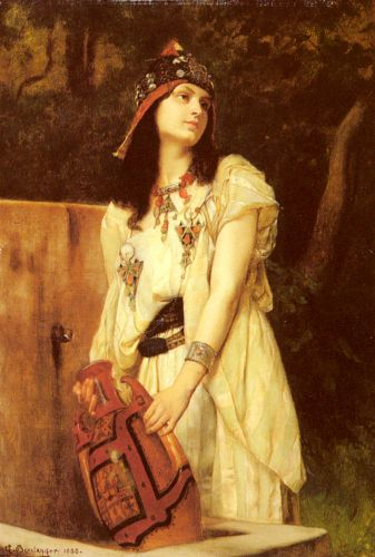 A Woman with an Urn by Gustave Boulanger