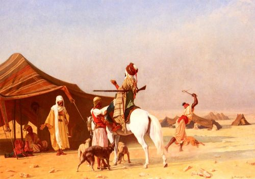 It's the Emir by Gustave Boulanger